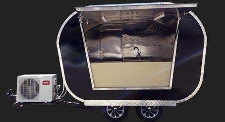 Beryllium food trailer