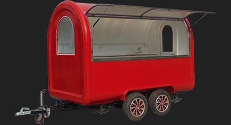 Hydrogen food trailer