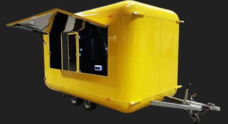 Oxygen food trailer