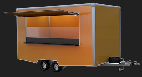 Polonium food trailer